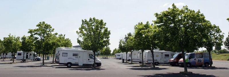 parking camping-car