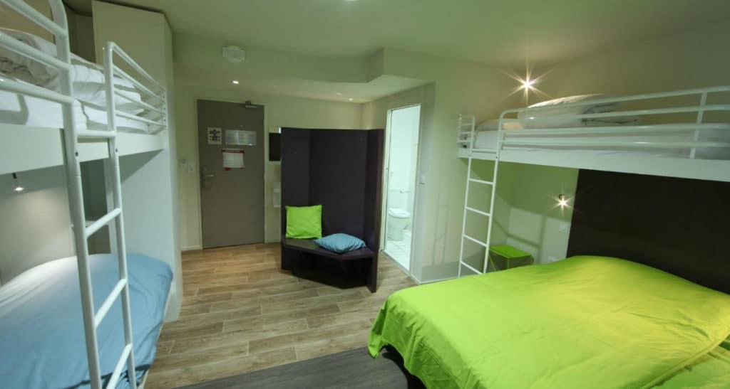 chambre hotel futuroscope