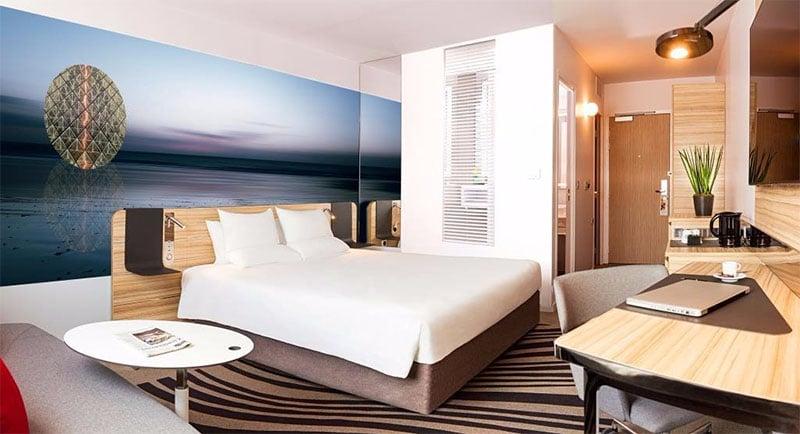 chambre hotel novotel