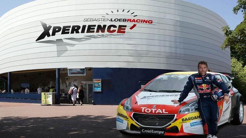 sebastien loeb racing xperience futuroscope